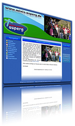 Website der asperger Ministranten